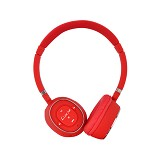 LUXA2 Bluetooth Stereo Headphones [BT-X3] - Red - Headphone Portable